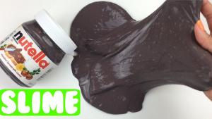 Cómo hacer Slime de nutella