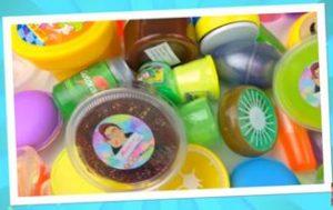 Ingredientes o materiales para hacer slime